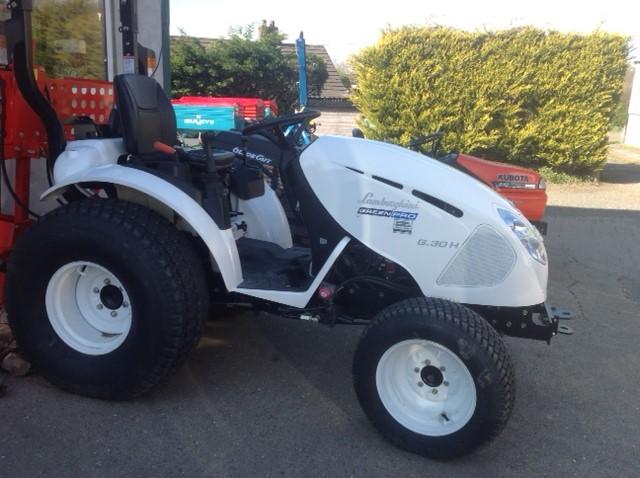lamborghini green pro tractor - blakewell services