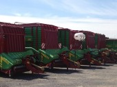 Forage Wagons and harvesters