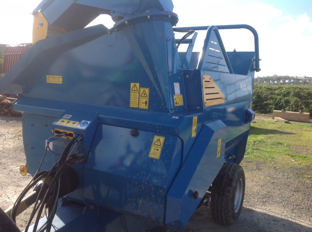 Used Tractors For Sale >> New KIDD 450 straw/silage chopper - Blakewell Services