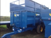 New West grain and silage trailers
