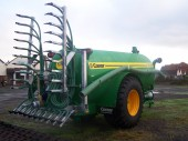 New Conor slurry vacuum tanker