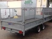 M&E MEF 35166 Flatbed Trailer