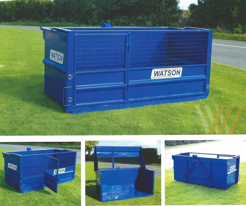 New Walter Watson Stock Bale Transport Box Blakewell Services