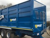 West 14 Ton Silage Trailer